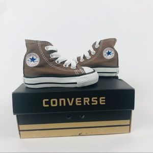High Top Converse baby/toddler size 2